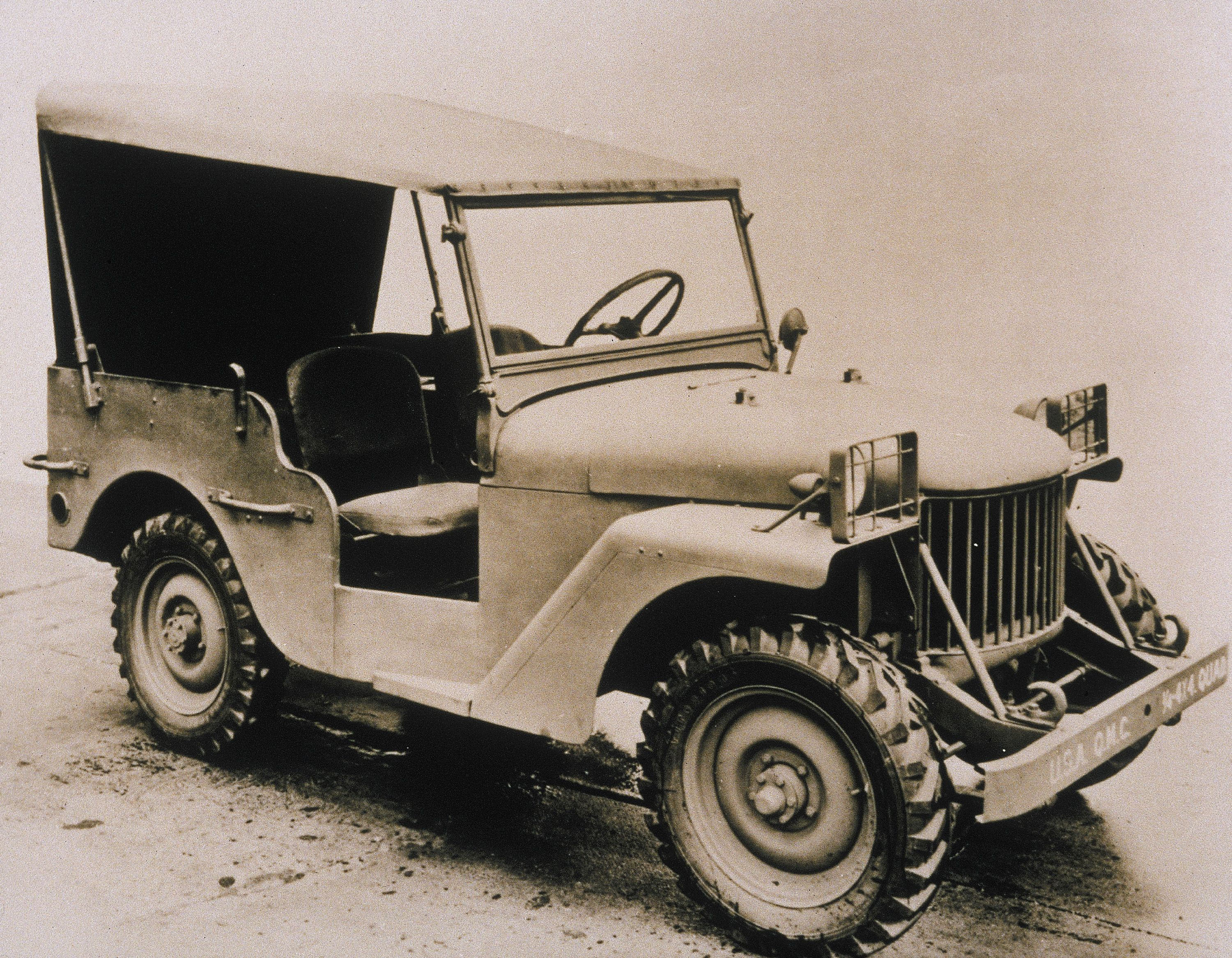 The Original Willys Quad Concept Crafted From Existing Parts In