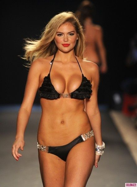 Kate Upton can you believe Victoria's Secret told her