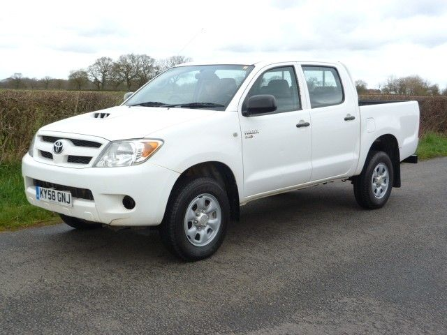 Toyota Hilux Hl2 D 4d Hl2 Double Cab Toyota Hilux Uk Version