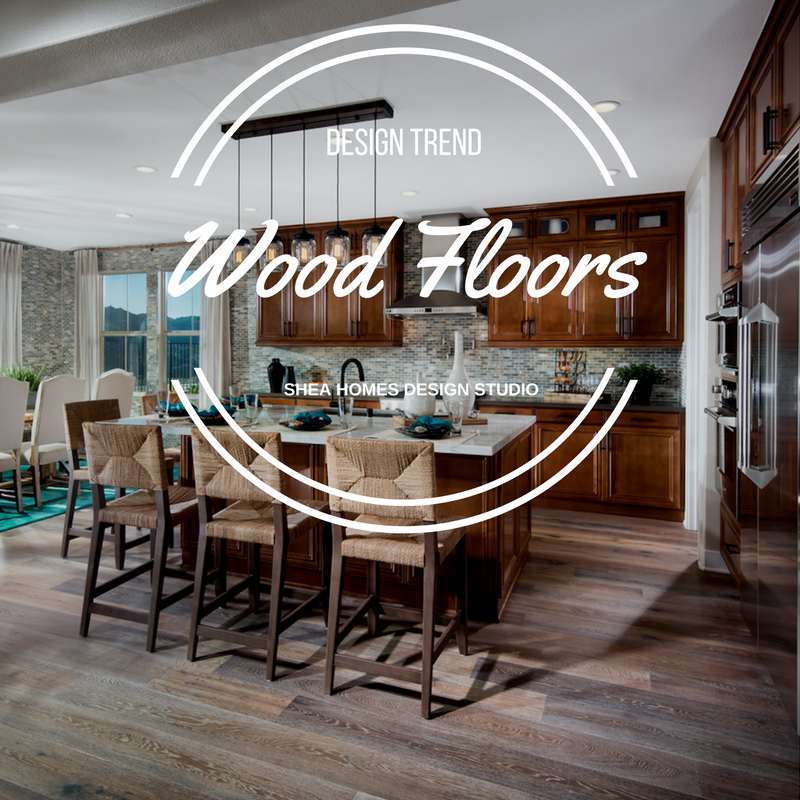 Design trends of 2016 wood floors shea homes blog for Shea homes design studio