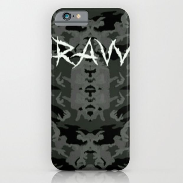 Raw ripped fatigue iPhone & iPod Case by Lilbudscorner
