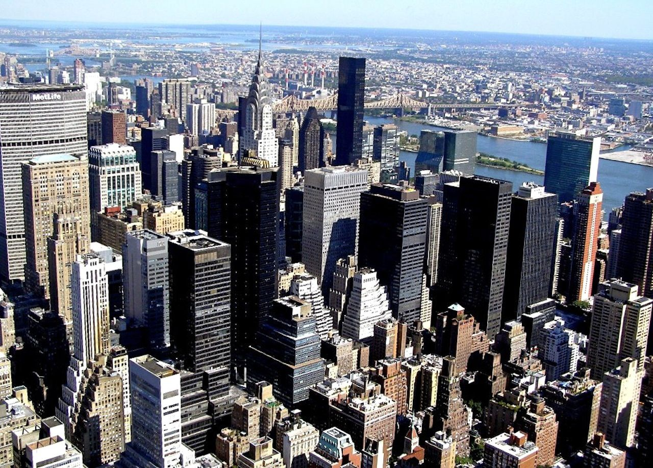 NY from Empire State (own photo)