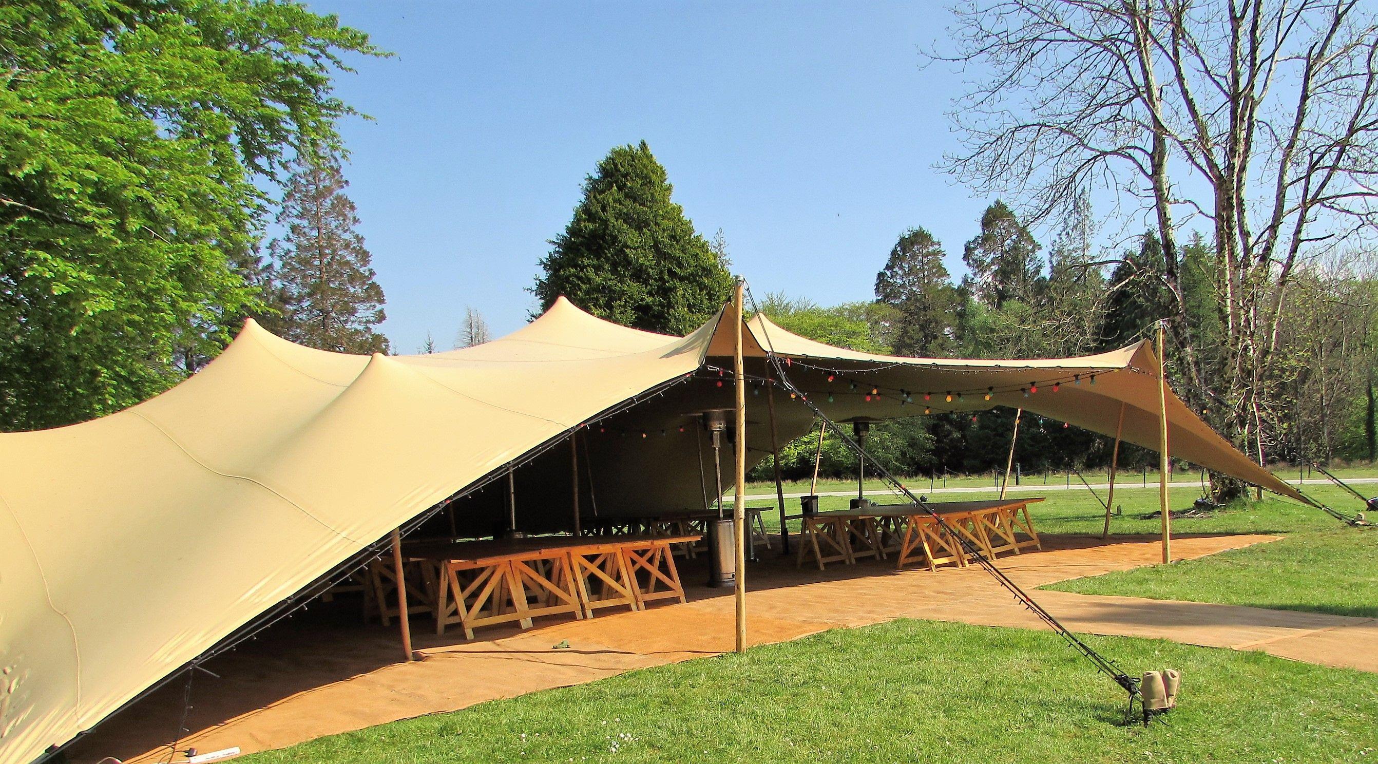 Maverick Marquees | Gallery Wedding Tents 16.5m x 15m