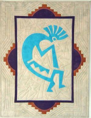 Music Maker - Kokopelli appliqué pattern | Southwest Quilts ... : kokopelli quilt pattern - Adamdwight.com