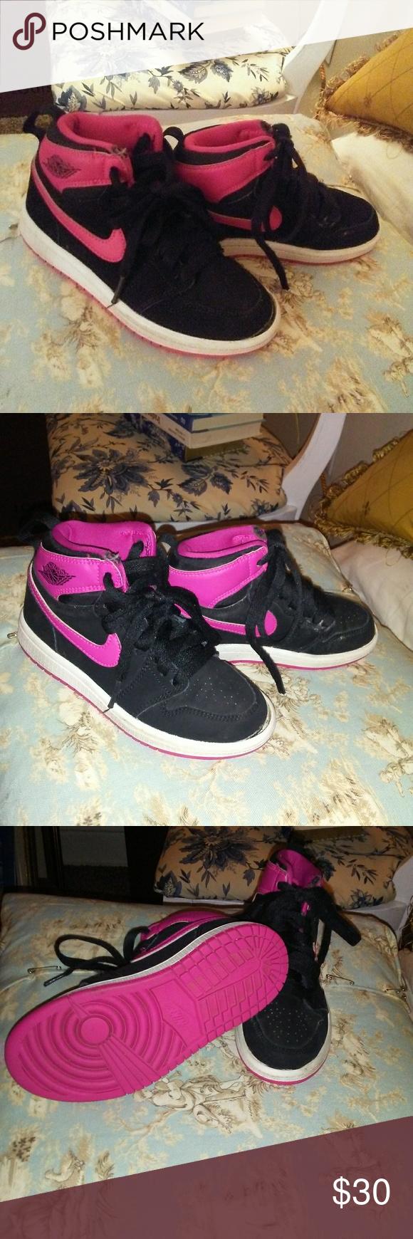 Baby Jordan s Size 11 Pink and Blank size 11 Air Jordan Shoes Baby Jordans d74b9d628