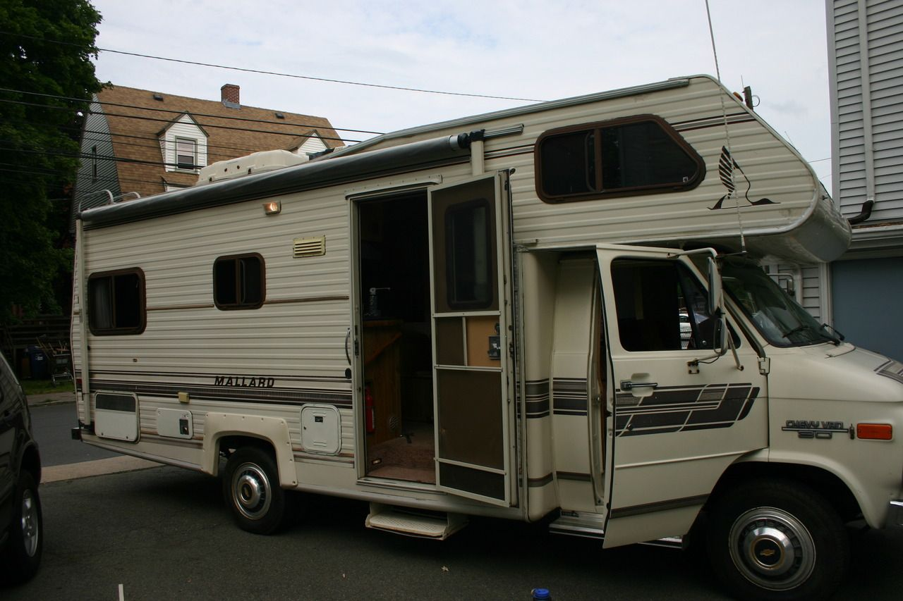 The Mallard  A 1987 Chevy Rv That Will Carry Us 8 000