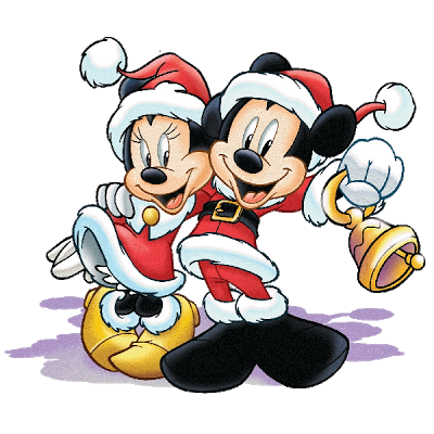 Mickey And Minnie Mouse - Christmas Clip Art Images | Christmas ...