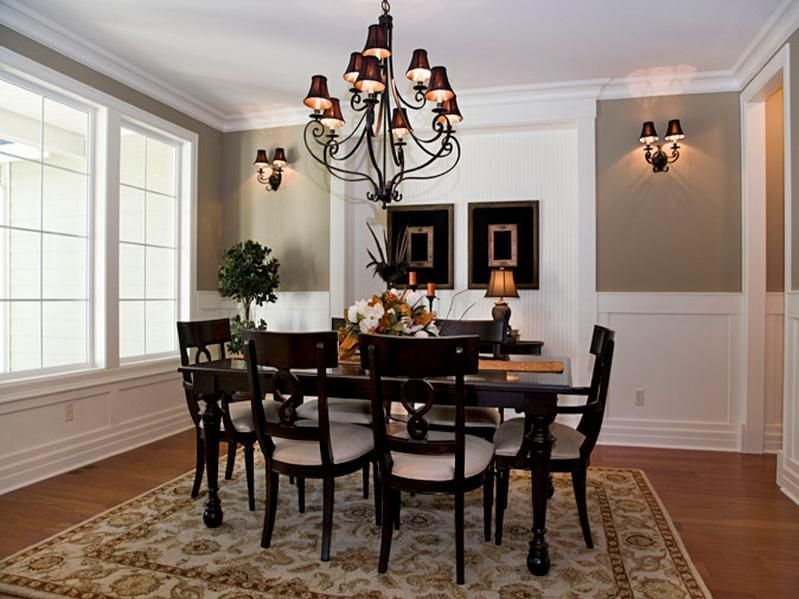 Cute Formal Dining Room Table Decorating Ideas
