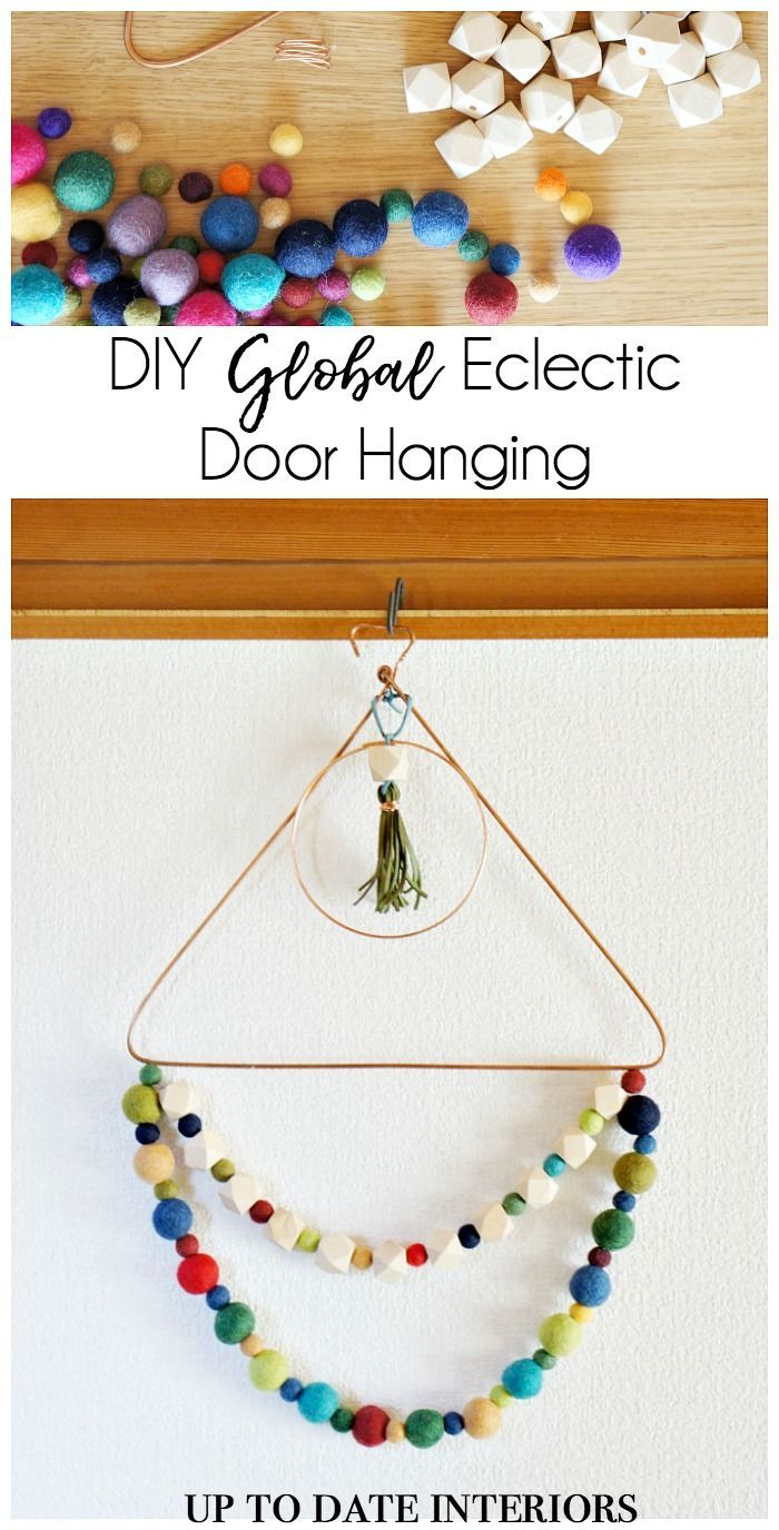 Global Eclectic Door Hanging | Door hangings, Doors and Beads
