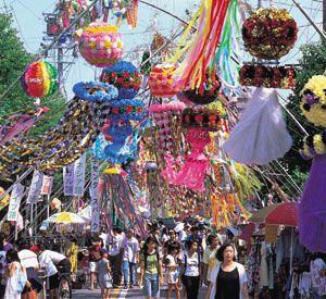 tanabata festival das estrelas