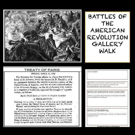 Explore The Battles Of The American Revolution With This Gallery
