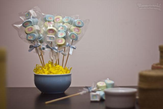 Centro de mesa para Baby Shower Babies - centros de mesa para baby shower