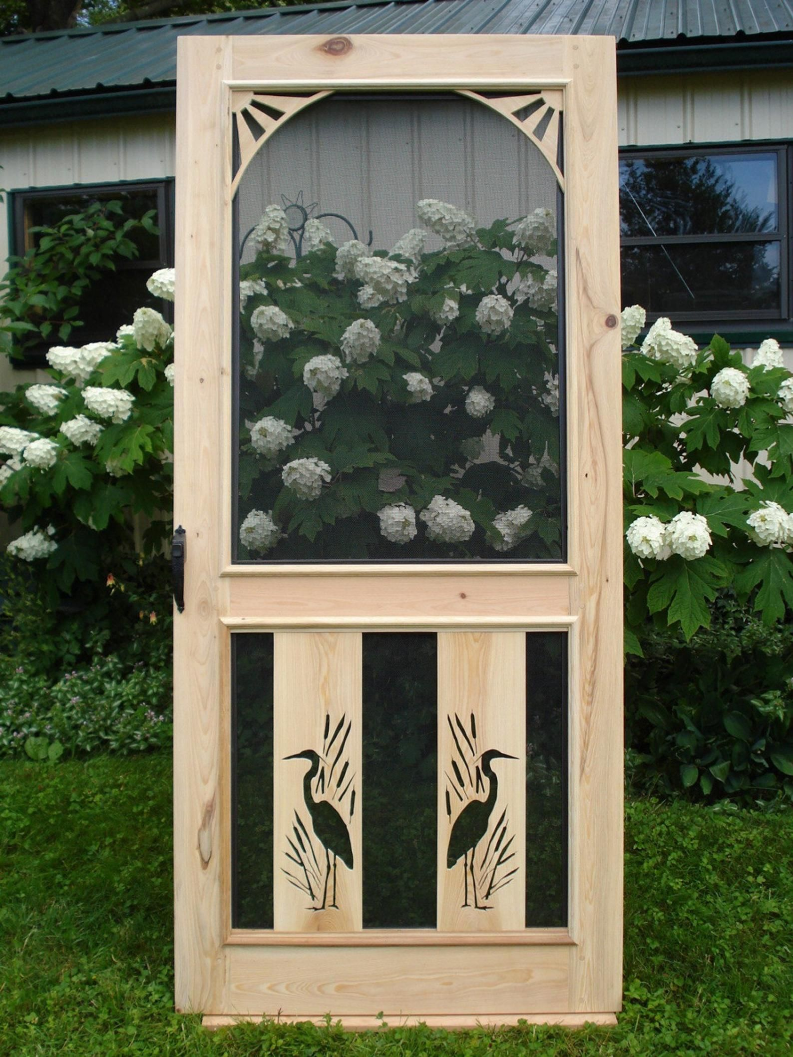 Chesapeake cypress screen door in 2020 custom screen