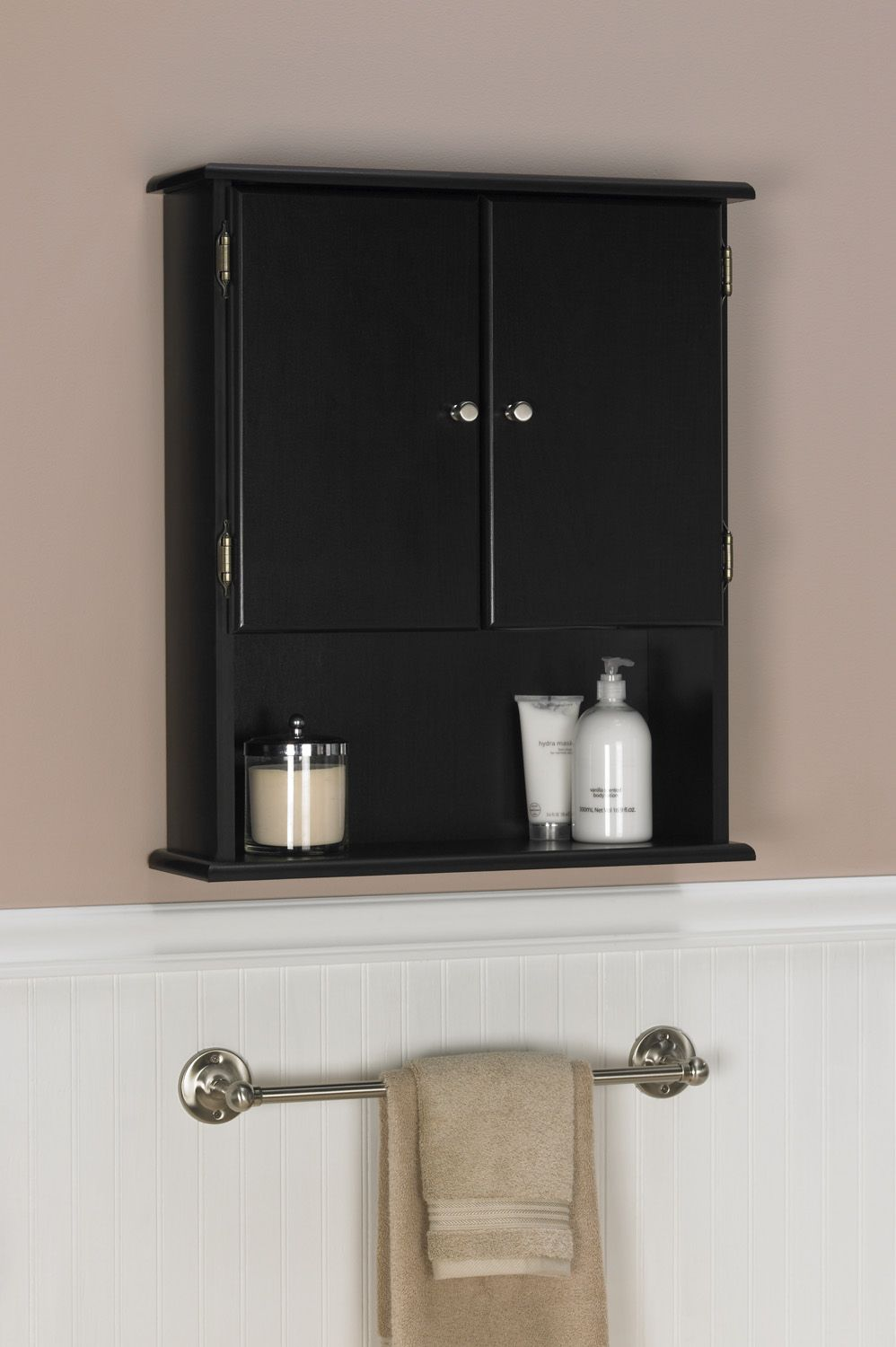 Bathroom Wall Nice One Storage Cabinets Espresso Bathroom