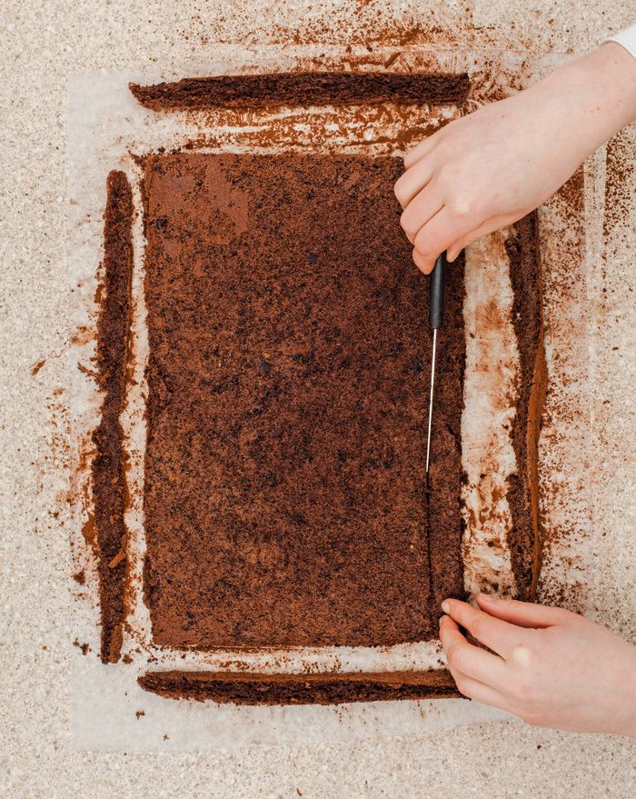 Cake Mix Chocolate Cake Roll