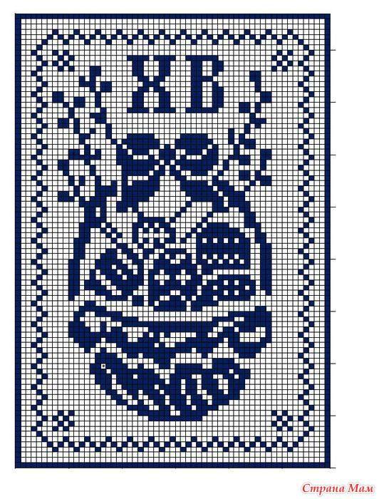салфетки к пасхе дополнила вязание пасха вязание и вязание