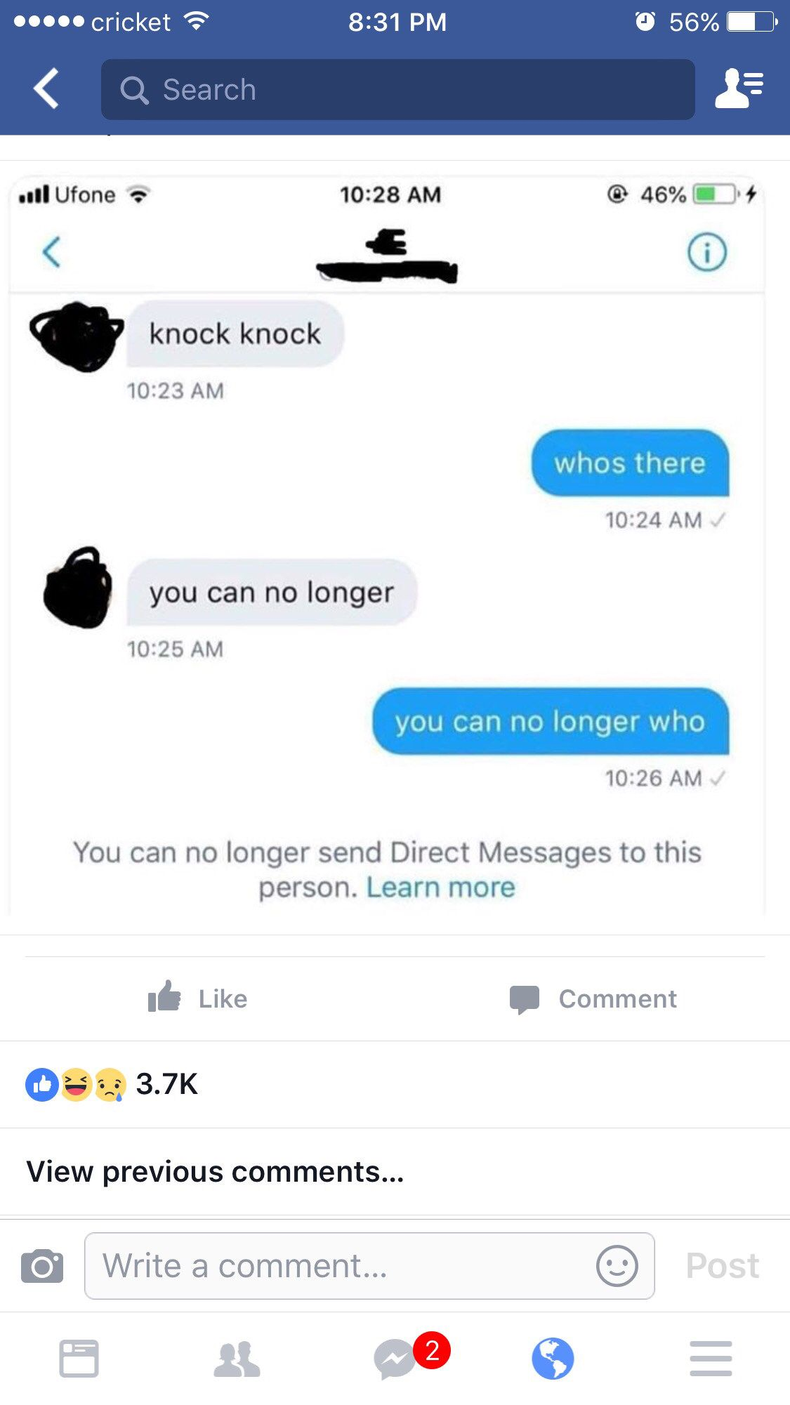 Knock Knock Who S There Stupid Funny Funny Funny Pictures