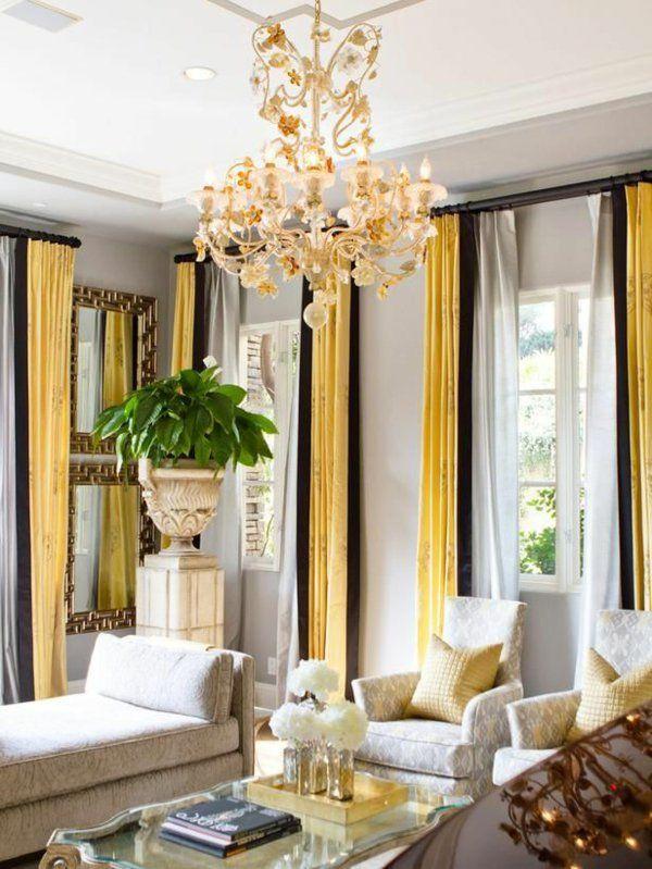 Jeder Raumgestalter würde es bestätigen, die Gardinen lassen jedes - gardinen wohnzimmer modern