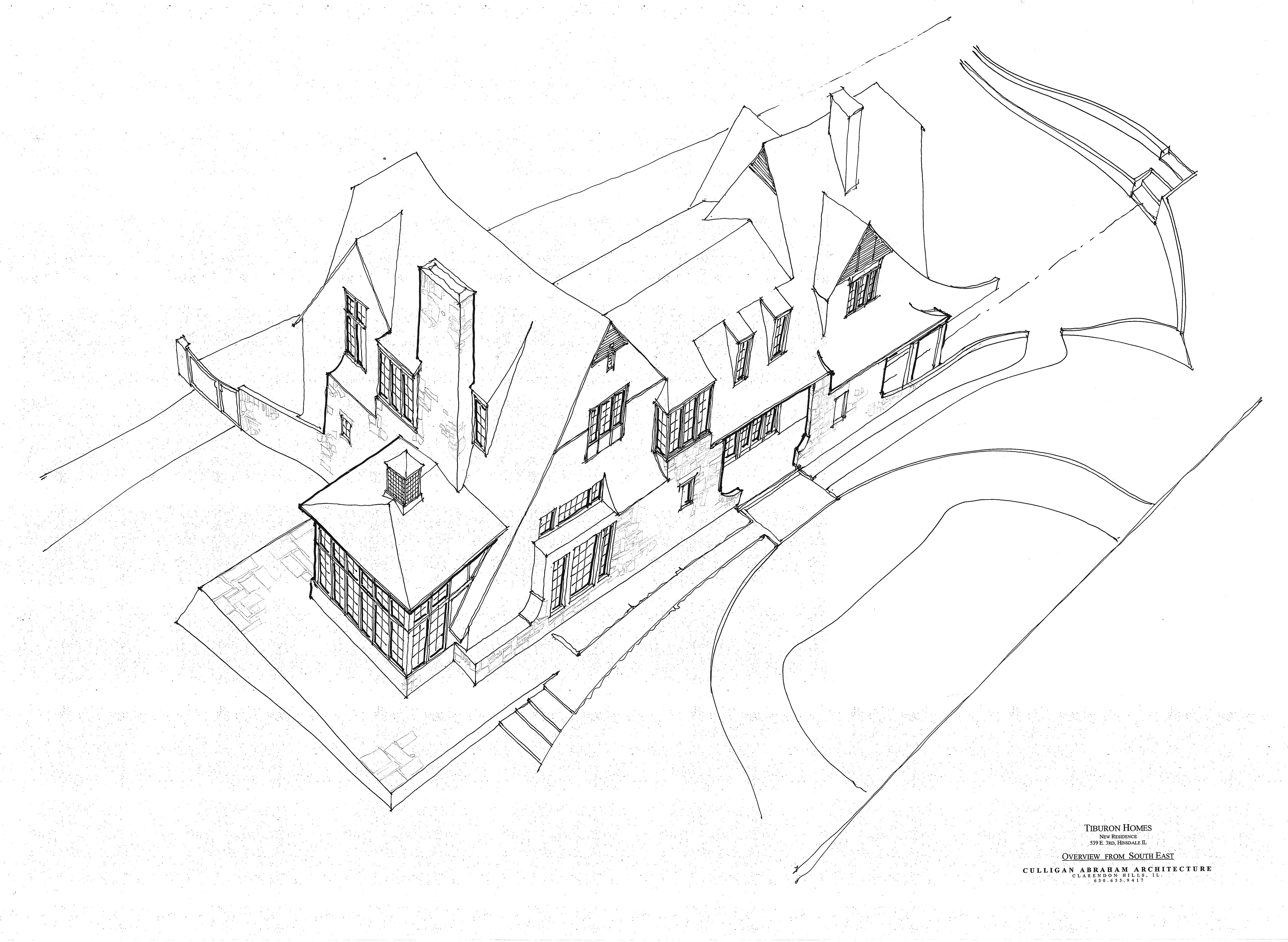Sketches - Drawings - Chicago - Michael Abraham Architecture ...