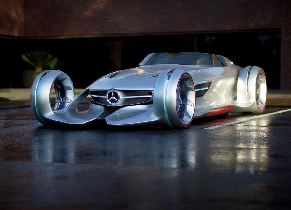 Foto Foto Unik MercedesBenz Silver Arrow Concept Car Concept - Cool mercedes cars