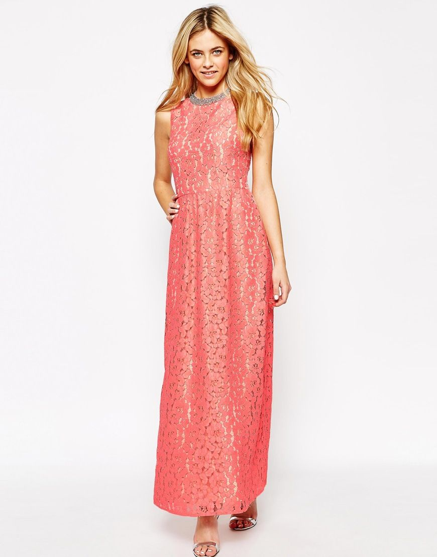 Oasis Premium Lace Maxi Dress | 98, Premium and Maxi dresses