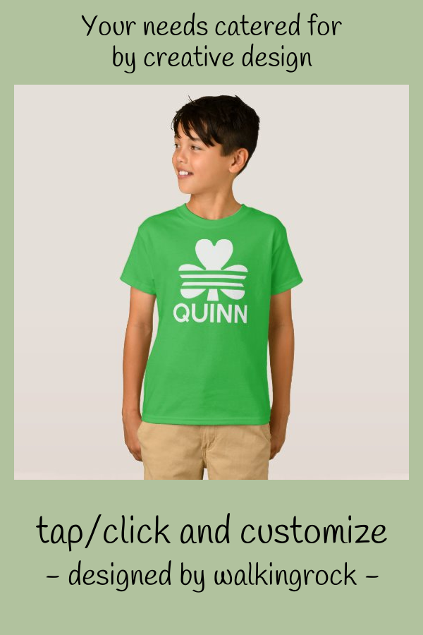 Shamrock Quinn Is Ready For St Patricks Day TShirt