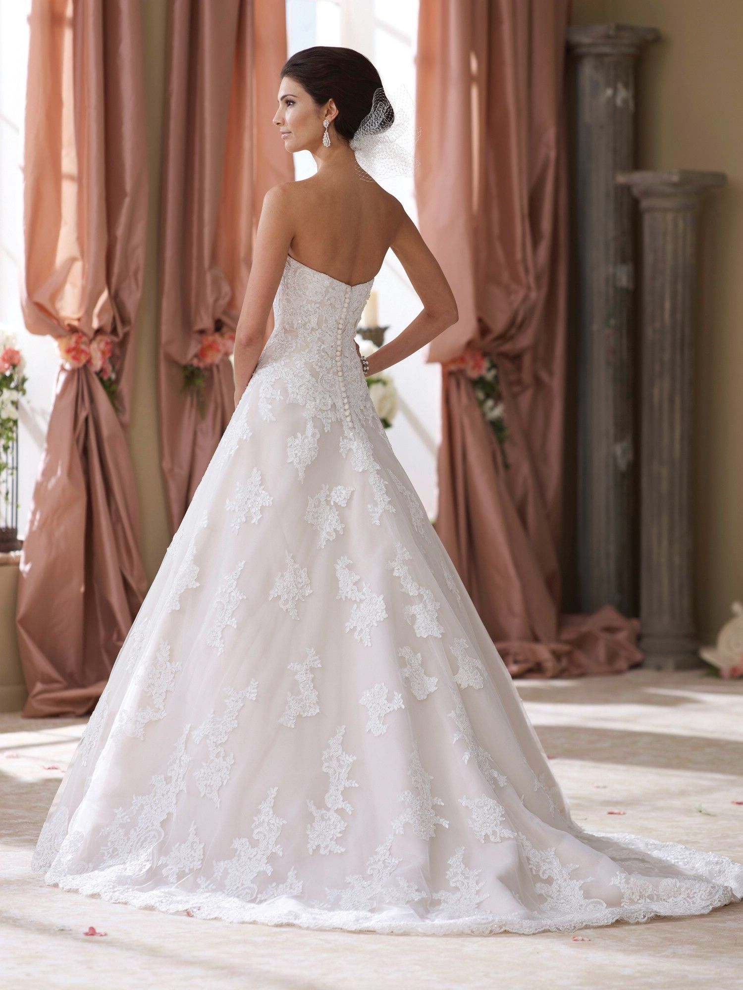 Wyomia | Martin Thornburg | Mon Cheri Bridals | Available at Lulu\'s ...