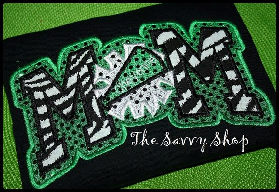 Cheer Mom Shirt by TheSavvyLady on Etsy, $30.00