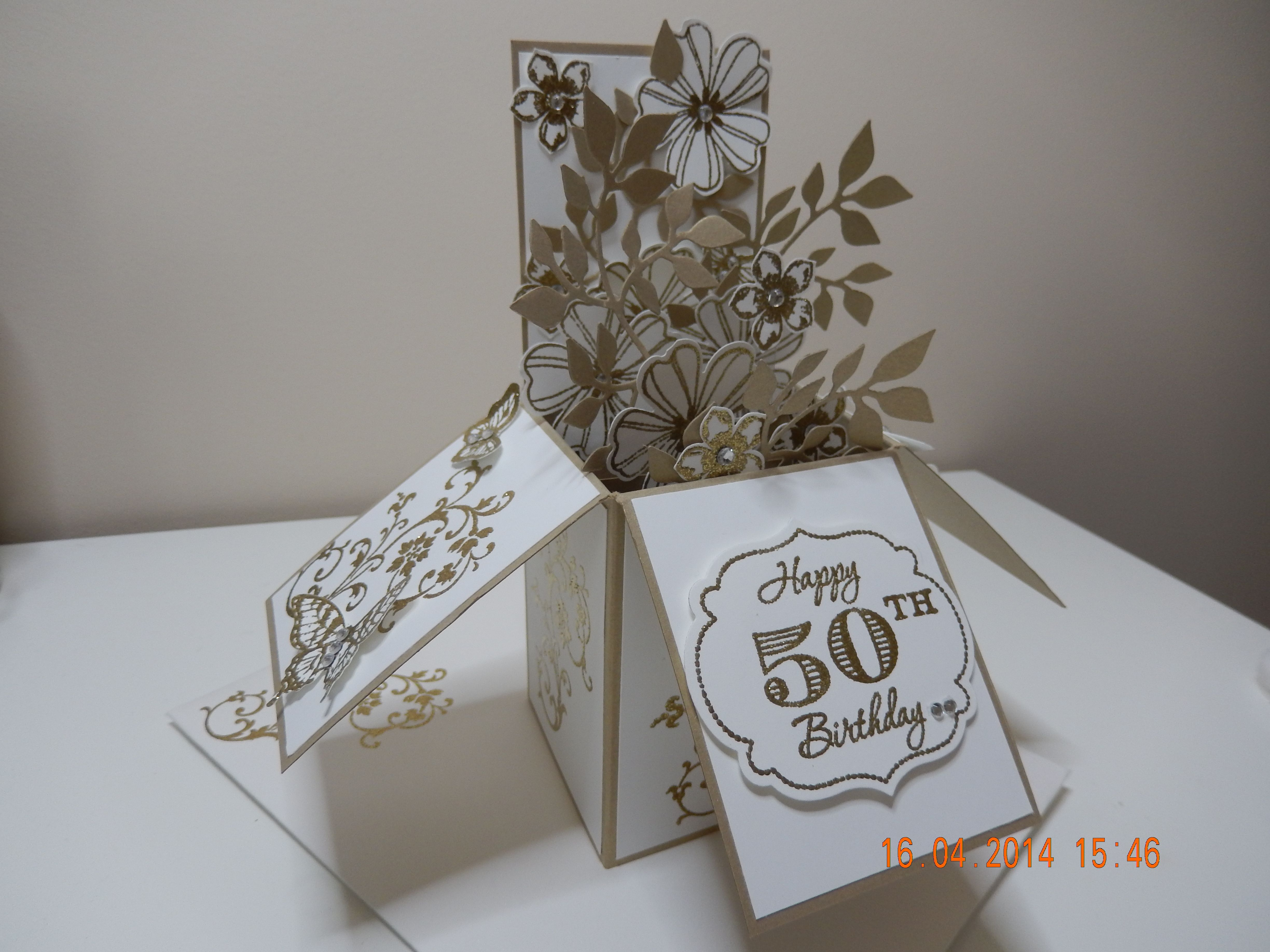 Stampin Up Card In A Box