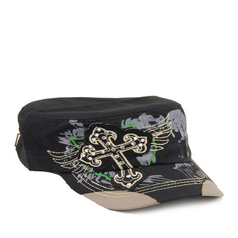 Black Fashion Cross Original Vintage Hat | Hats, Hats, Hats