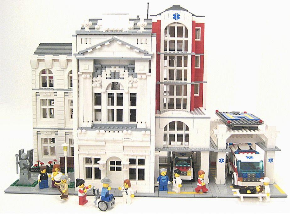 lego city hospital instructions
