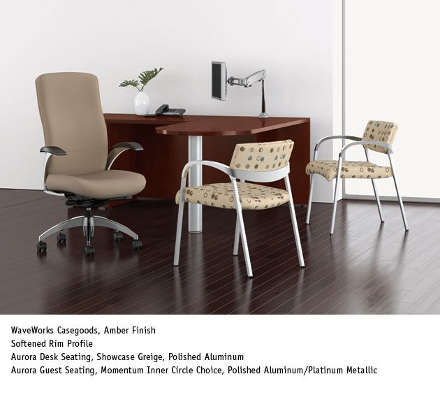 Aurora Guest Chairs & Desk Chair - National Office Furniture