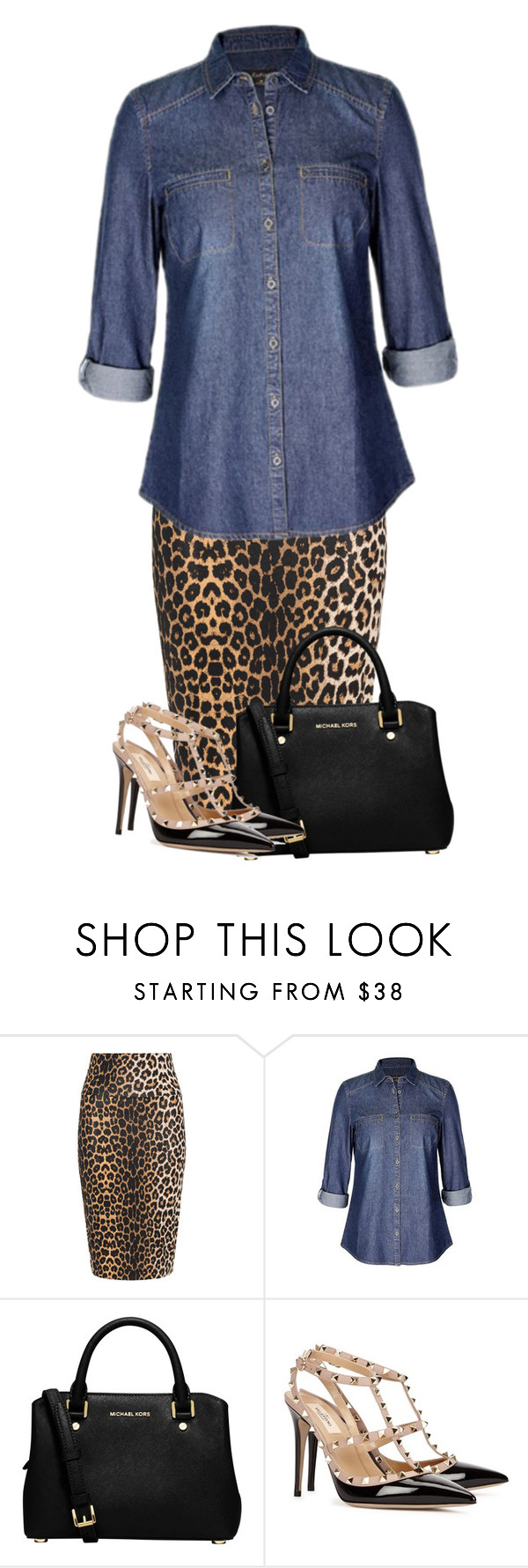 """""""🙃will be posting lots today🙃"""" by miagracerobinson ❤ liked on Polyvore featuring Yoek, MICHAEL Michael Kors and Valentino"""