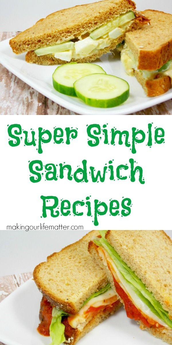 Little Bit Zingy Egg Salad Recipe Food Recipes Easy Sandwich