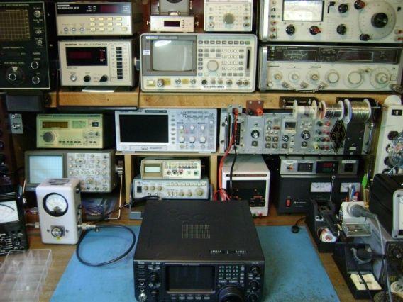 N1eq Ham Radio Repair Shop Ham Radio Office Phone Landline Phone