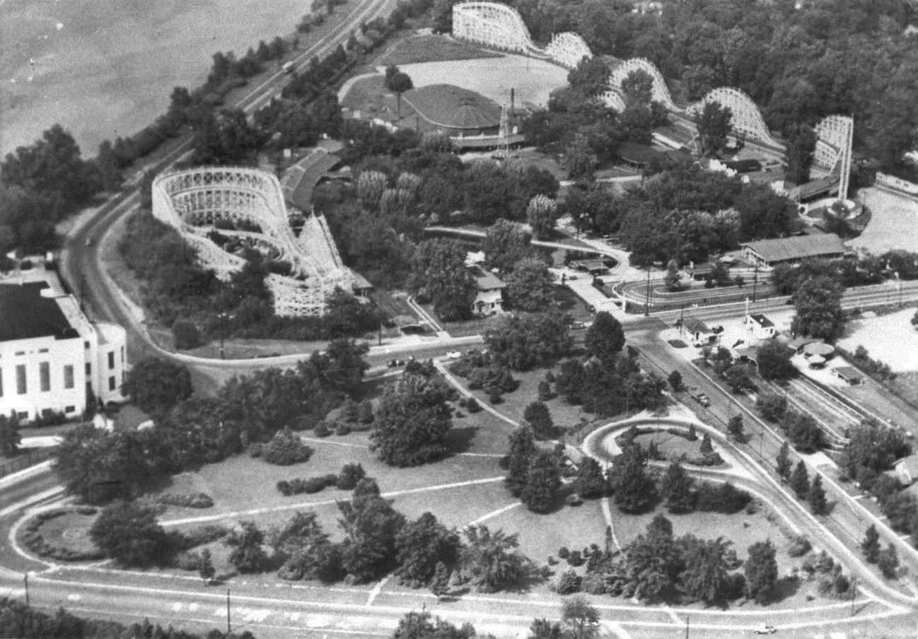 Riverside Amusement Park Indianapolis Circa 1950 Indiana