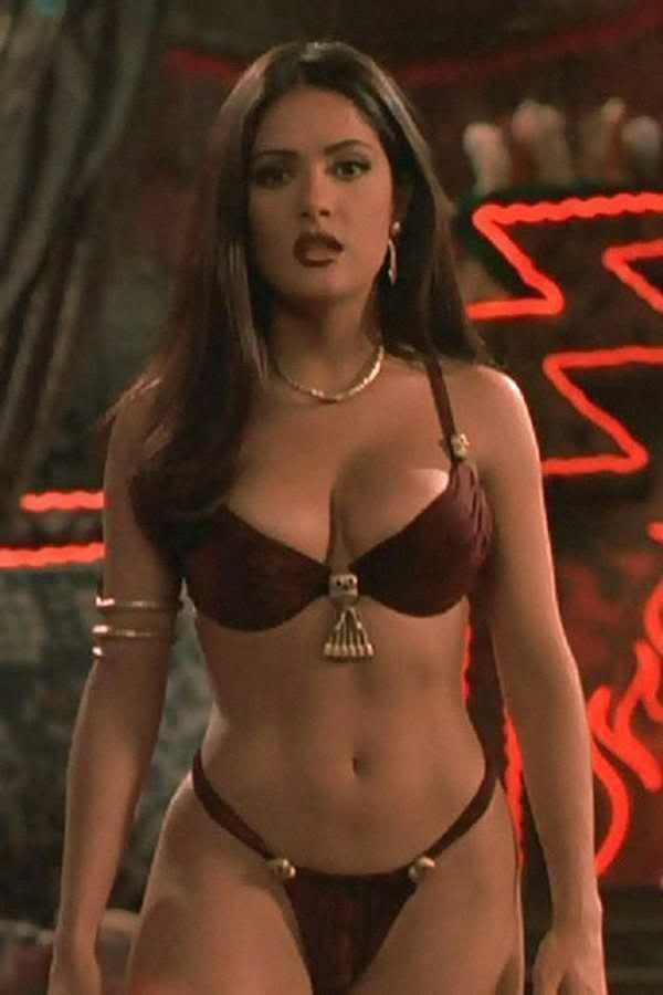 Salma Hayek Boobs. Because Salma Hayek is famous and Salma Hayek's boobs  are equally as