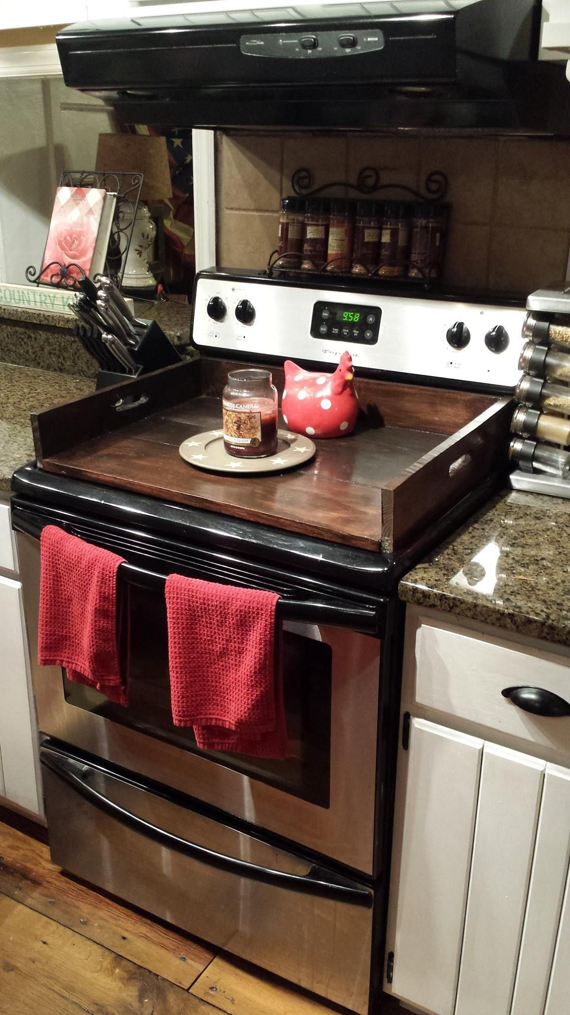 Pin by Katie Hawkins on DIY Stove top cover, Home