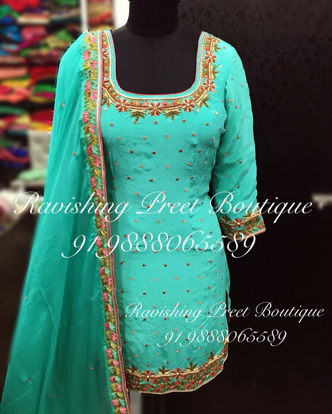 Pin by Ravishing Preet Boutiuque on Latest Designer suits ...