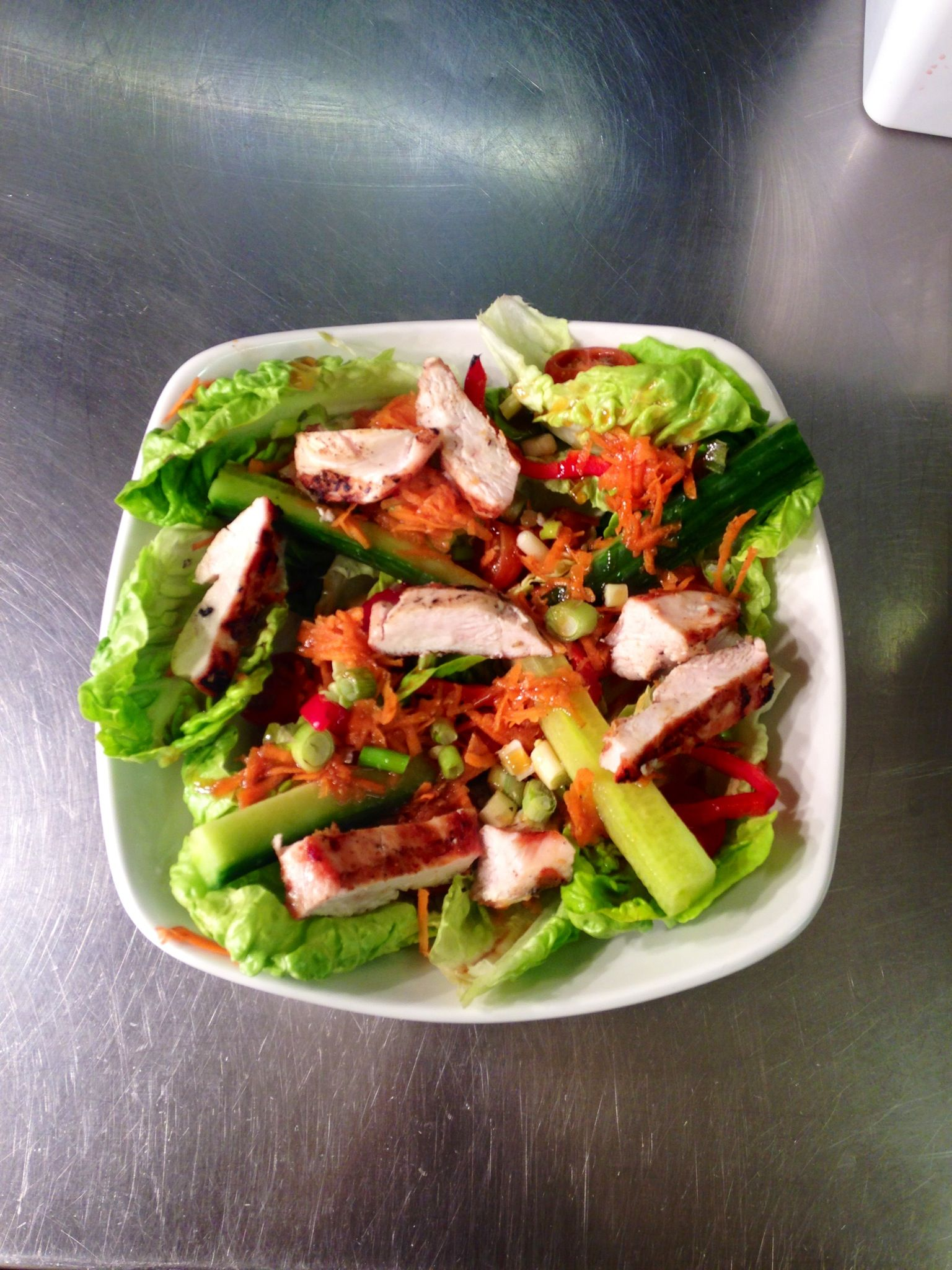 The perfect vitamin packed salad to beat away those wet and windy blues!