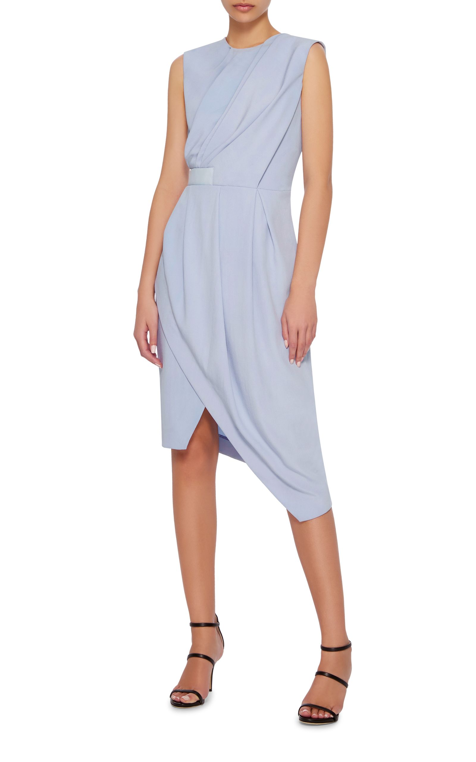 Sleeveless Pinterest Carven Draped Dress Carven Draped Zt7qv