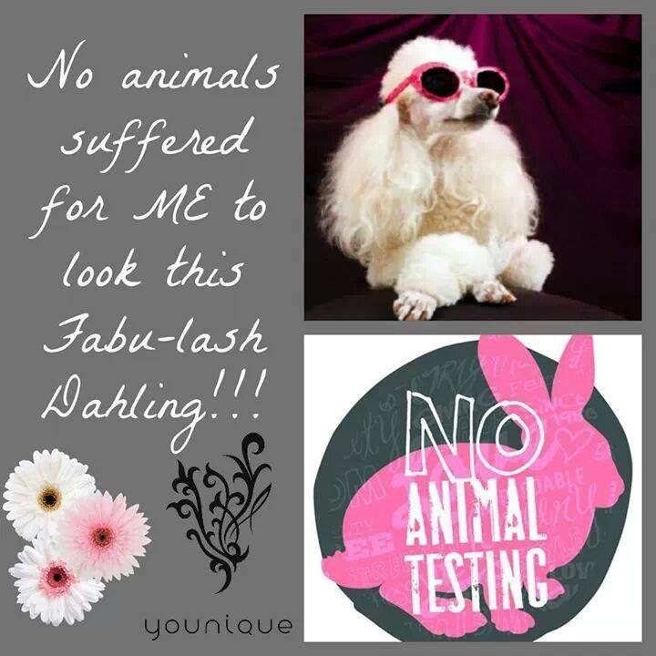 Younique loves animals like I do . Www.lashesomg.com