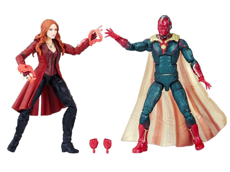 Super Hero Figure Marvel Avengers Vision Building Toys Infinity War