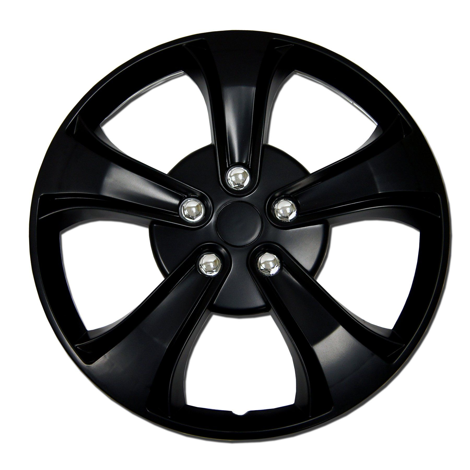 ABS Black/ Red 15-inch Design Hubcaps (Set of 4) | Products | Replica wheels, Aftermarket wheels, Toyota paseo