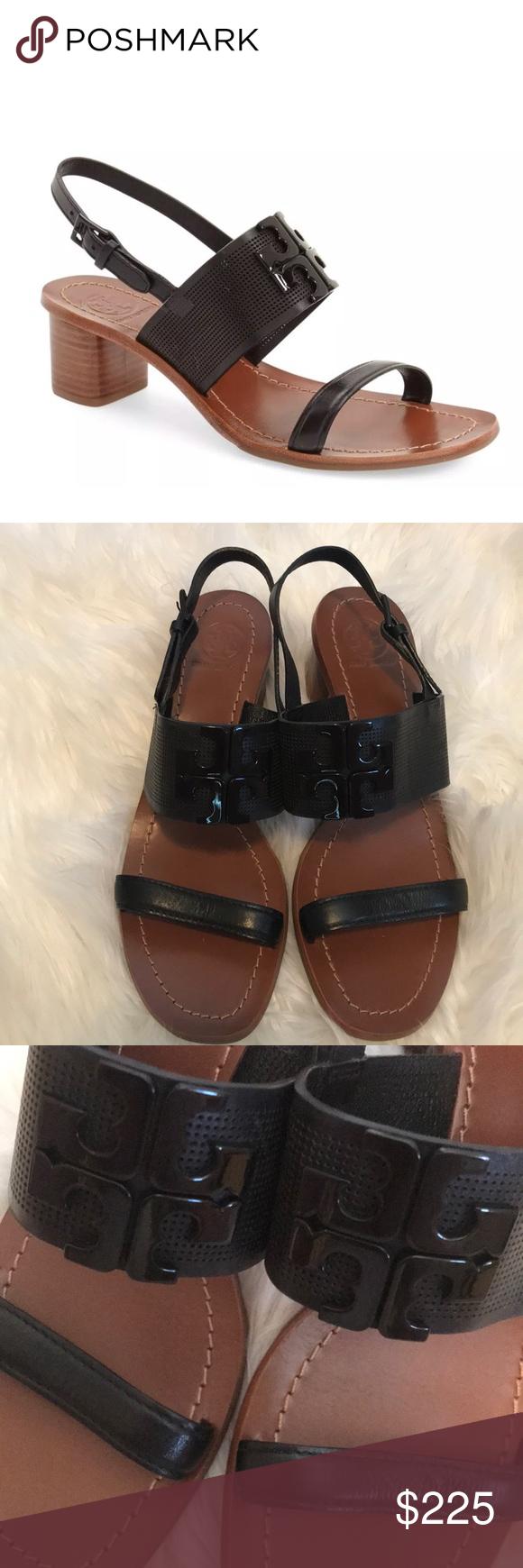 c6095a3964909d Tory Burch block heel Lowell sandal Brand new with tags. Tory Burch Lowell  block heel