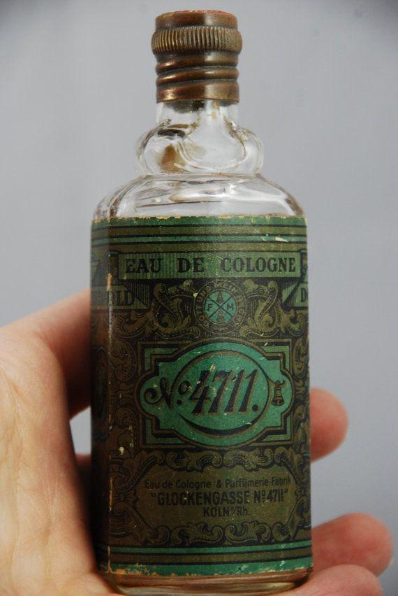 Vintage German Glockengasse No 4711 Perfume By