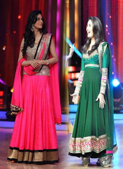 $207.2 Sridevi Lehenga Choli & Kareena Kapoor Anarkali ...