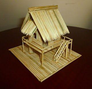 Model Of Vietnamese Stilt House House On Stilts House