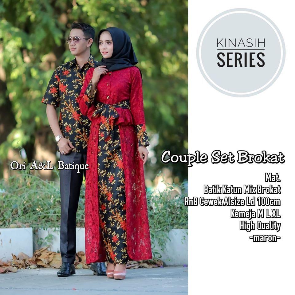 Terbaru Wa 0895 2103 6753 Gamis Brokat Couple Sarimbit Women Kimono Top Fashion