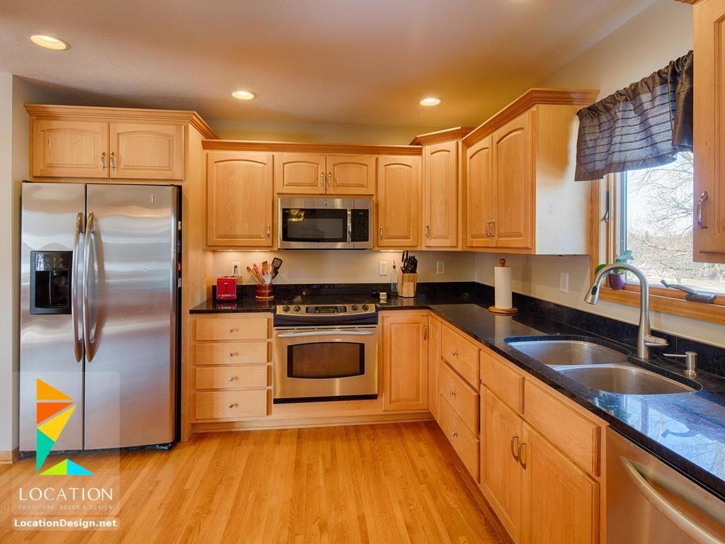 مطابخ خشب صغيرة 2018 2019 لوكشين ديزين نت Home Decor Kitchen Kitchen Cabinets Kitchen